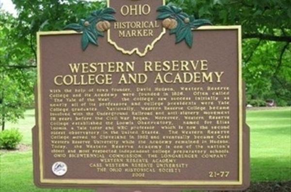 Western Reserve Academy, Ohio