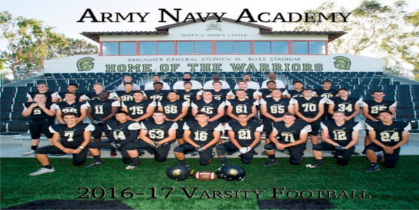 Army and Navy Academy, California